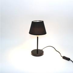 Lampe de chevet - NOIR - idéal salon, chambre