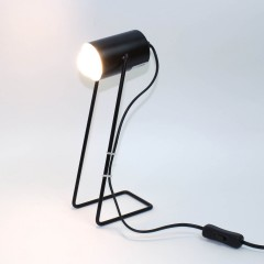 Lampe de bureau en métal - noir - IXOR