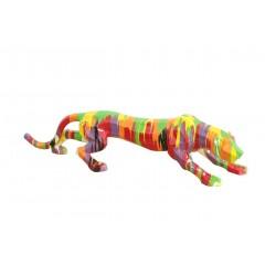 Sculpture multicolore - PANTHERA