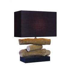 Lampe à poser décoration bois - WOOD
