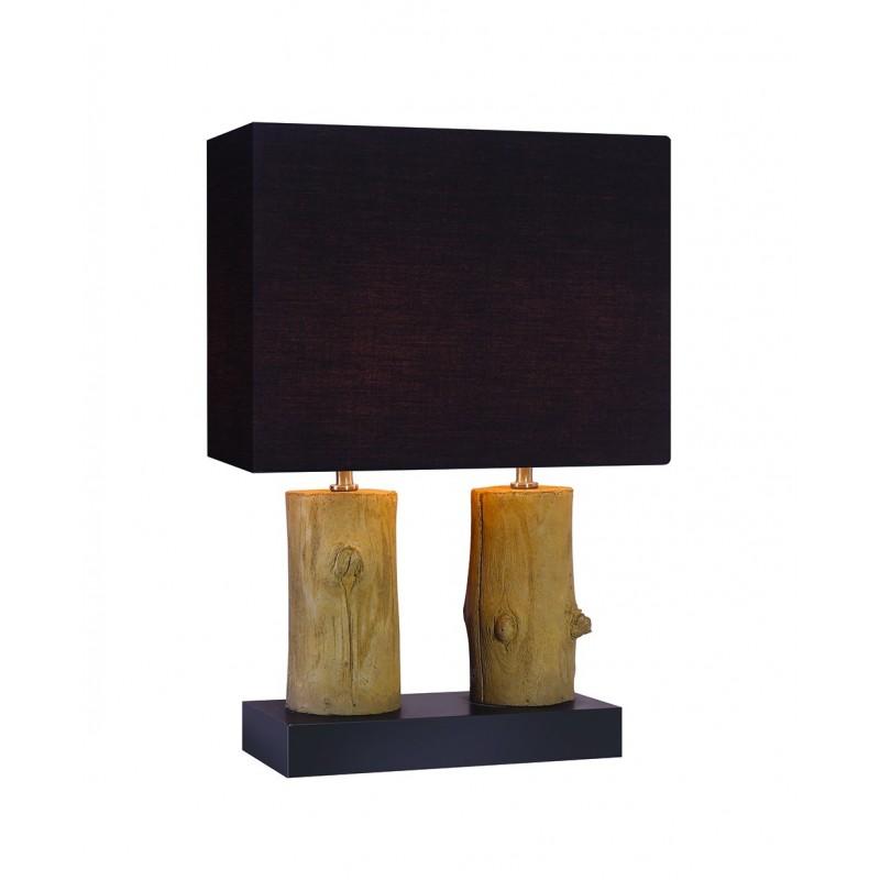 Lampe à poser décoration bois WOOD