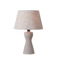 Lampe à poser gris ciment - ELICA