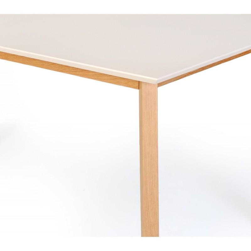 TABLE scandinave extensible blanche - VINKO