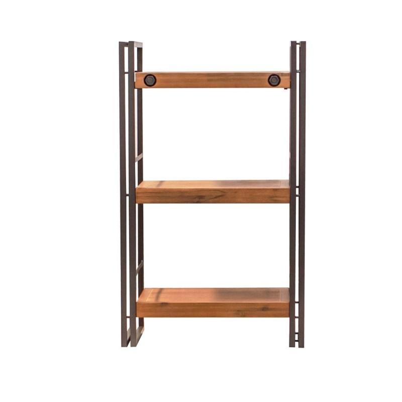biblioth que 3 tag res 60cm atelier. Black Bedroom Furniture Sets. Home Design Ideas