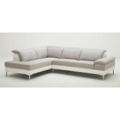 Canapé d'angle droit BEIGE- VEGAS