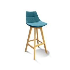 Chaise haute scandinave avec dossier - DEB