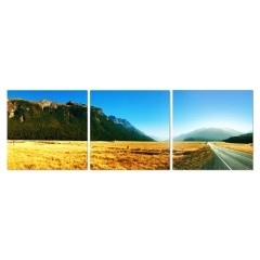 Tableau Photographie triptyque en verre Acrylique - édition limitée - NEW ZELAND