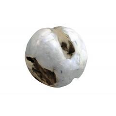 Boule en bois teck déco nacre - NACRE