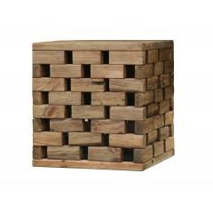 Bout de canapé en bois recyclé - ORIGIN