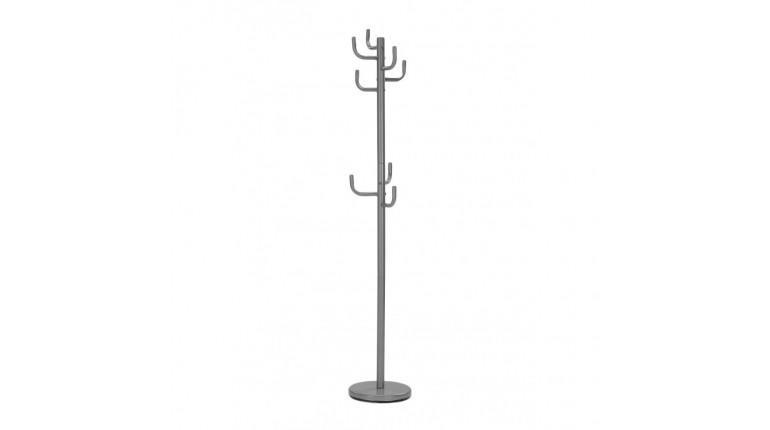 Porte-Manteau design Cactus gris - POPPY