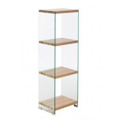 Bibliothèque en verre trempé - GLASS