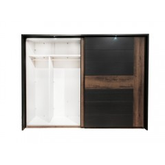 Armoire, dressing 2 portes coulissante - BELLA