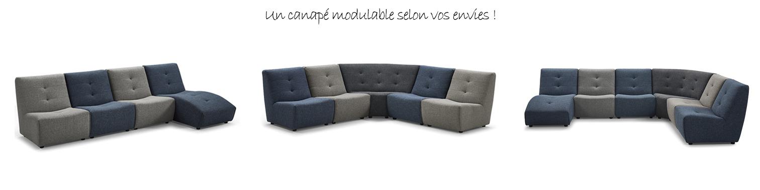 Canapé modulable - PARIS