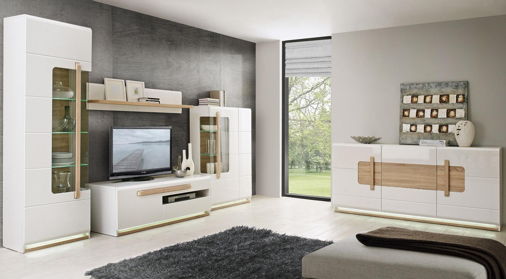 Bahut 3 portes blanc - Sensation
