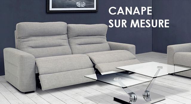 Canape sur mesure